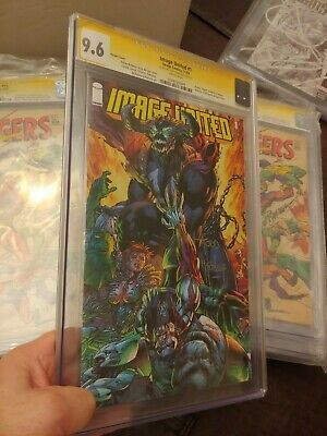 Image United #1 Cgc Ss 9.6 Haunt Preview Signed By Todd Mcfarlane