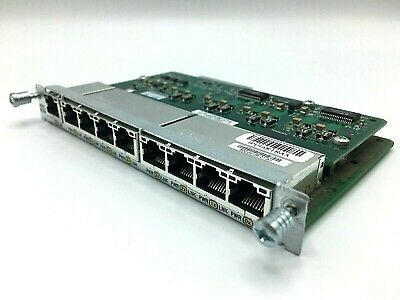 Cisco HWIC-D-9ESW-POE  2 year Warranty Real time listing.
