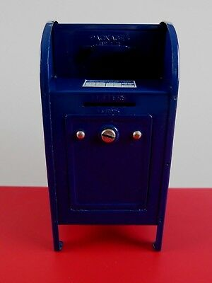 """United States Mail Box Metal Bank by Western Stamping No Key Made in Korea 7.25"""""""