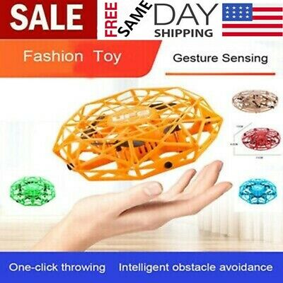 NEW Mini Drones 360° Rotating Smart Mini UFO Drone for Kids Flying Toys Best USA