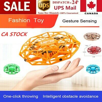 NEW Mini Drones 360° Rotating Smart Mini UFO Drone for Kids Flying Toys Best CAN