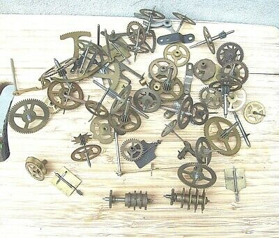 Large Selection of  Clock Pinions, Wheels, Racks & Lifters etc.