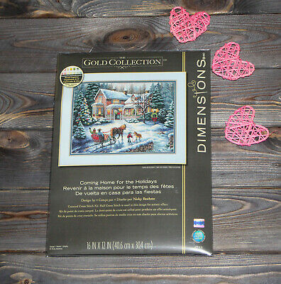 Dimensions Counted Cross Stich Kit Coming Home for the Holidays 08733