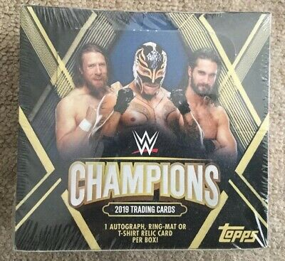 Topps Ww Champions 2019 Trading Cards Full Box