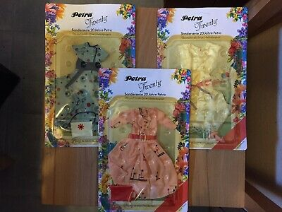 VINTAGE Barbie org. PETRA Puppe 20. Anniversary OUTFITS OVP