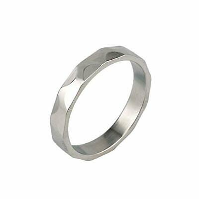 4mm 316L Stainless Steel Polished Engineer Iron Ring (Engineering)