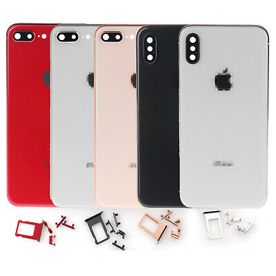 New Back Glass Housing Battery Cover Frame Assembly For iPhone 8 8 Plus iPhone X