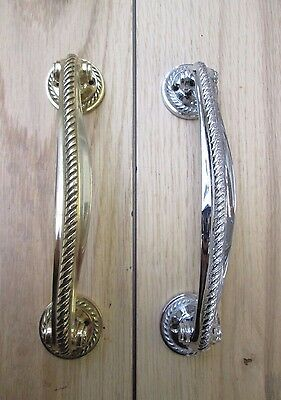 185MM GEORGIAN BOW HANDLE- Vintage old style door pull handles