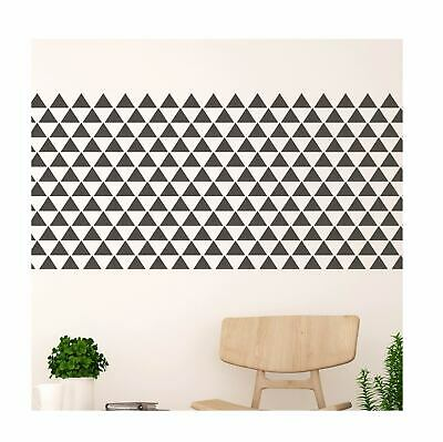 SKAGEN Modern Geometric Triangle Wall Furniture Stencil for Painting
