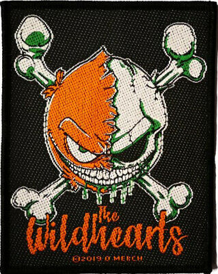 The Wildhearts Riff Skull Embroidered Patch