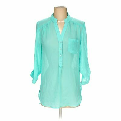 Live 4 True Women's  Blouse size S,  turquoise,  polyester,  good condition
