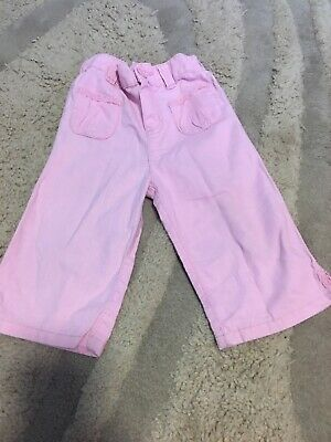 Girls Summer Trousers Age 2-3