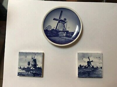Delft Tiles And Plate