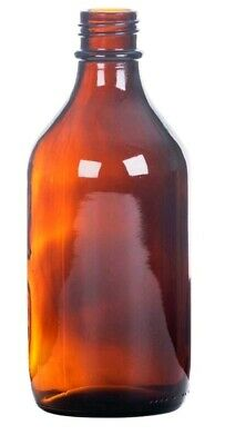 PACK OF 12 X AMBER GLASS WINCHESTER BOTTLE - NO CAP 2 Litre 2000ml medical lab
