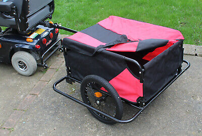 Mobility Scooter Rear Cargo Towing Trailer XX Large Tow Transport Attachment New