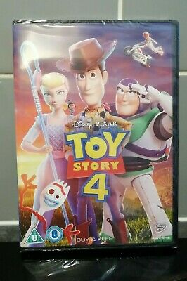 Toy Story 4 Sealed DVD NEW!
