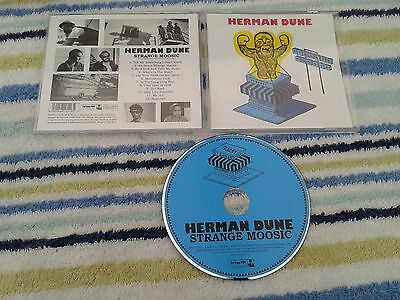 HERMAN DUNE ‎– Strange Moosic EUROPE CD W/booklet