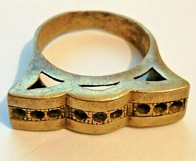 rare ancient Roman bronze ring artifact Amazing