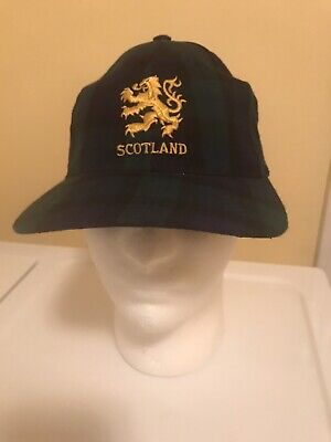 ProClimate Mens Scotland Navy Embroidered Baseball Cap C268