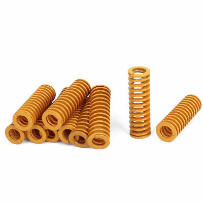 10 Pcs 16mm OD 50 mm Long Light Load Stamping Compression Mold Die Spring.