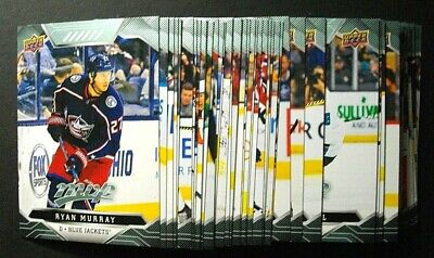 2019-20/19-20 Upper Deck Mvp Lot Of 20 Base Cards You Pick Up To Finish Set
