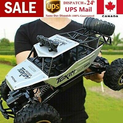 1:12 2.4G High Speed RC Monster Truck Remote Control Off Road Car RTR Toy New CA