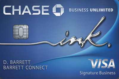 $90 + $500 Sign Up Bonus for Chase Ink Unlimited Business Credit Card Referral