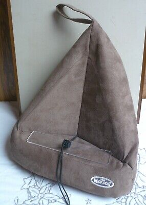 The Book Seat - A Bean Bag Holder For All Books – Hands Free Reading Book Tablet