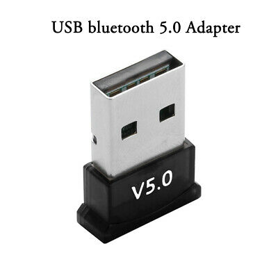 USB bluetooth 5.0 Adapter Wireless Dongle Stereo Receiver for PC Win 10 8 7/XP □