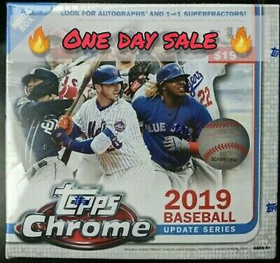 2019 Topps Chrome Update Series Mega Box - FACTORY SEALED 🔥 EXCLUSIVE 🔥