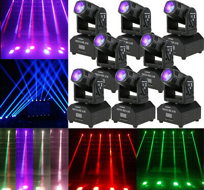 50W LED Stage Light Beam Moving Head Effect Lights DMX512 DJ Club Party Lighting