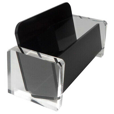 Acrylic Desktop Business Card Holder Display for Desk Elegant Business Card P1B4