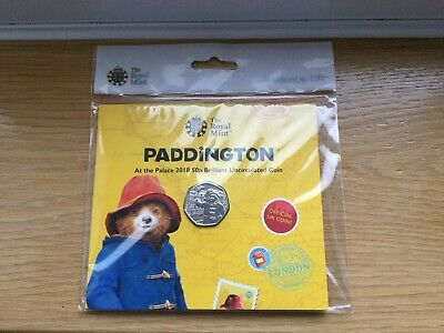 2018 PADDINGTON BEAR AT THE PALACE 50p Brilliant Uncirculated Coin FREE DELIVERY