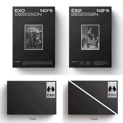 【Exo】Exo Obsession Album (Vol 6) Sealed + Poster + All Pre Order Benefits
