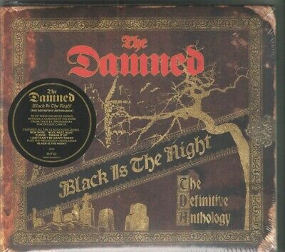 The Damned ‎– Black Is The Night - One Blood Circle - 2 x CD - Sealed&MINT