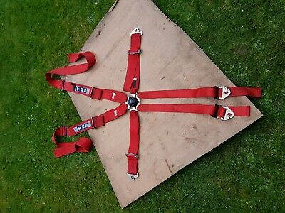 TRS 6 point Race harness seatbelt for Kit Car Single Seater Motorsport FIA