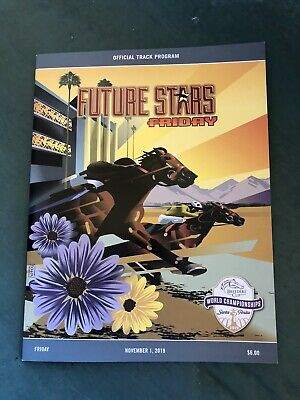 Breeders' Cup 2019 Future Stars Official Friday Program - Storm the Court - MINT