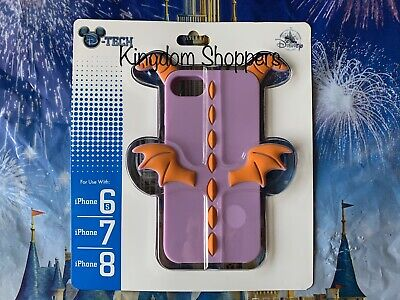 2019 Disney Parks EPCOT Figment Horns Wings iPhone 6S 7 8 Phone Case NEW