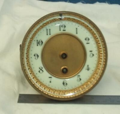 Antique French Clock Movement For Parts/Repair