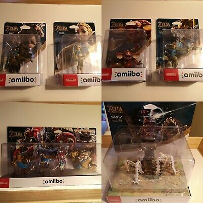 Legend of Zelda Breath of the Wild Amiibo Collection