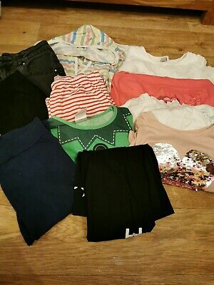 Girls Clothes Bundle Age 12-14 Years Leggings Tops Pyjamas Etc