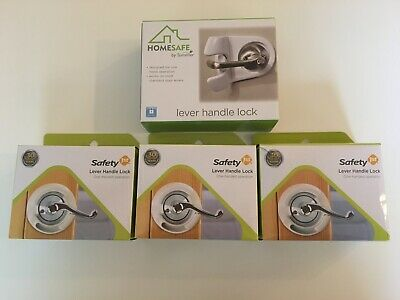 4 Locks Safety 1st French Door Lever Handle Lock