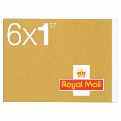 6x1 1st Class Letter Size Stamp Book (6 Stamps, 1 Book)