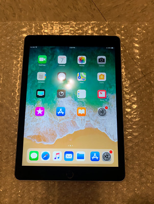 Apple iPad Air 2 16GB, Wi-Fi + Cellular (Unlocked), 9.7in - Space Gray