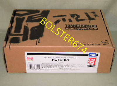 HOT SHOT Transformers Generations War for Cybertron Trilogy Deluxe WFC-GS09