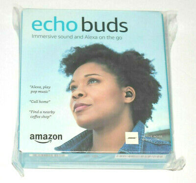 Amazon Echo Buds True Wireless In-Ear Headphones Black - BRAND NEW!!!