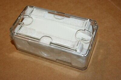 New Original Plastic Shipping Storage Travel Case For Your Rolex Or Other Watch
