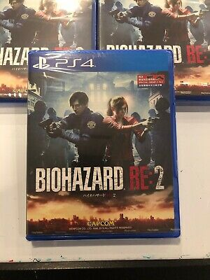 Biohazard RE: 2 Resident Evil PlayStation PS4 2019 Multi-Language Factory Sealed