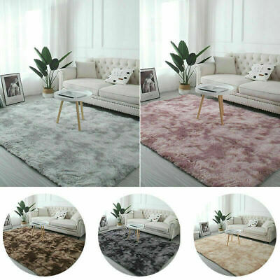Hairy Carpet Balcony Round Rectangular Carpet Faux Fur Carpet Bedroom Rug Mat
