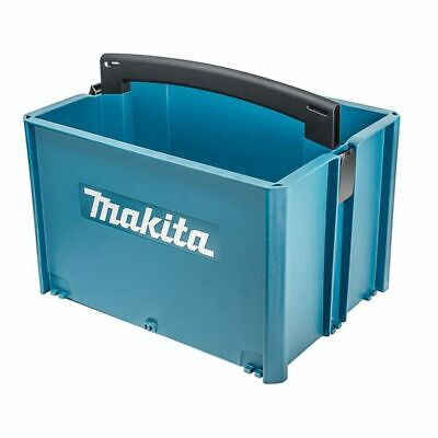 Makita MAKPAC TOOL BOX 250mm High, Collapsible Handles, Rounded Grips